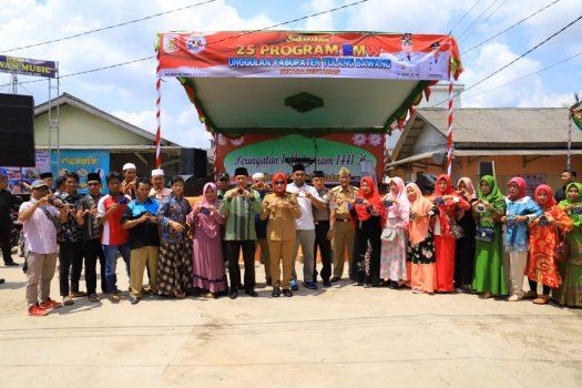 Bupati Winarti Hadiri Peringatan 1 Muharam di Kampung Pasiran Jaya