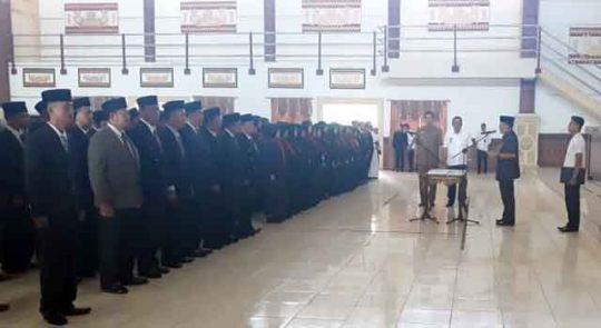 Bupati Zaiful Bokhari Lantik 297 Pejabat Lampung Timur