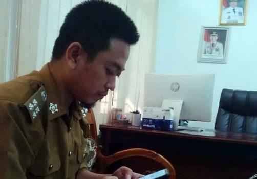 Kepala Bidang Perbendaharaan di Badan Pengelolaan Keuangan dan Aset (BPKA), Ashhabul Yamin Hakim