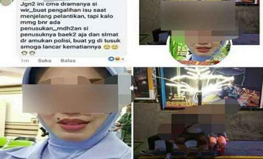 Anggota Polisi Militer AU di Dicopot Jabatannya karena Istrinya Posting Menyinyiri Penusukan Wiranto