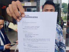 Bukti pendaftaran gugatan perdata Sugianti, guru honorer SMP Negeri 84 Koja, Jakarta Utara kepada Menteri PAN RB Tjahjo Kumolo dan Gubernur DKI Jakarta Anies Baswedan. Gugatan didaftarkan di Pengadilan Negeri Jakarta Timur, Senin 28 Oktober 2019.