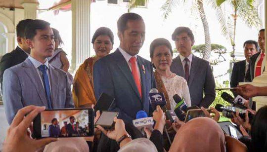 Jokowi akan Umumkan Para Menteri Kabinet 2019-2024 Besok