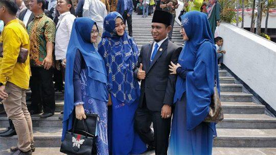 Punya Tiga Istri, Hanya Satu Istri Lora Fadil Dapat Hak dari DPR RI