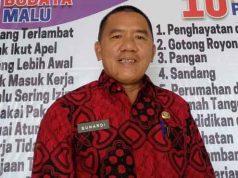 Plt Kasat Pol PP Kota Bandarlampung Suhardi Syamsi.
