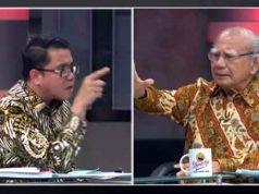Arteria Dahlan dan Emil Salim dalam acara debat di acara Mata Najwa (youtube.com)