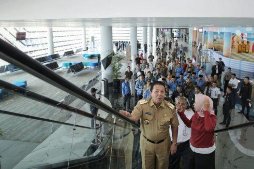 Jelang Kunjungan Presiden Jokowi, Gubernur Arinal Tinjau Dermaga Eksekutif Pelabuhan Bakauheni