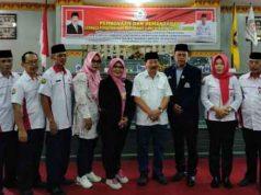 Walikota Herman HN bersama anggota LPM Kota Bandarlampung.