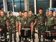 Foto: KSAD Jenderal Andika Perkasa di RSPAD Gatot Subroto, Jakarta Pusat. (Rolando-detikcom)