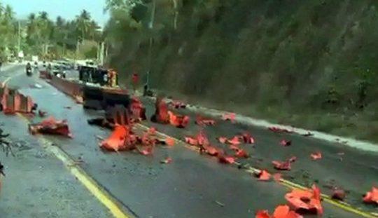 Kecelakaan Maut di Tarahan: 4 Orang Ditabrak Truk Saat Selfie di Pinggir Jalan