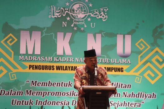 PWNU Lampung Kembali Gelar Madrasah Kader