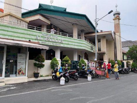 Masjid Al Falaah, Pejompongan, Jakarta Pusat, yang diduga menjadi tempat penyekapan dan penganiayaan Ninoy Karundeng, Selasa, 8 Oktober 2019. Tempo/Adam Prireza