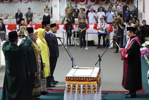 Mingrum Gumay Pimpin DPRD Provinsi Lampung 2019 – 2024