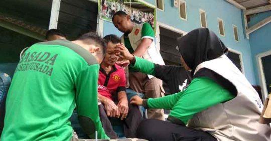 Penerima Manfaat Gerak Banser Lampung Capai Ribuan Orang