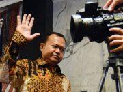 Patrice Rio Capella, seusai memberikan keterangan kepada awak media, di Gedung DPP Partai Nasdem, Jakarta, 15 Oktober 2015. TEMPO/Imam Sukamto
