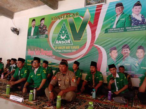 GP Ansor Kabupaten Waykanan Lakukan Jihad Lingkungan