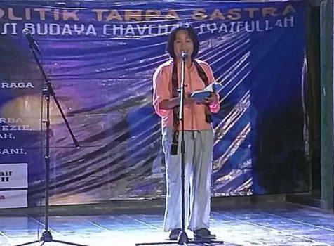 Chavchay Syaifullah: Naif Kalau Indonesia Tak Hormati Puisi