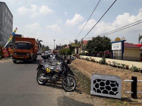 Jelang Peresmian Polres Pringsewu, Sejumlah Ruas Jalan Ditutup