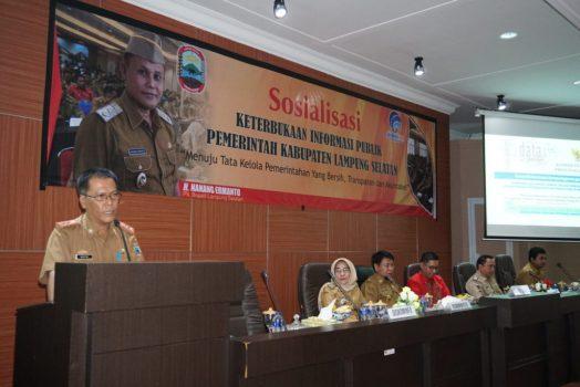 Diskominfo Lamsel Gelar Sosialisasi Keterbukaan Informasi Publik bagi OPD