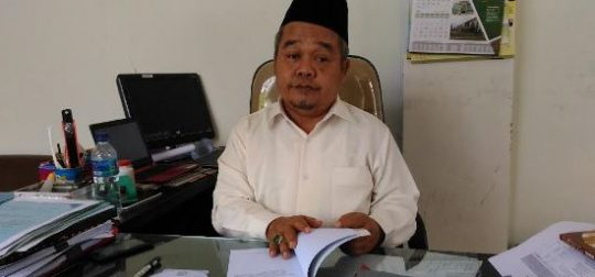 Ketua MUI Lampung, K.H. Khairudin Tahmid