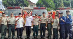 Walikota Herman HN bersama jajaran BPPD Kota Bandarlampung.
