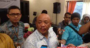 GM UID PLN Lampung Pandapotan menjelaskan kepada awak media kesiapan jajarannya untuk menyambut Natal dan Tahun Baru 2020.