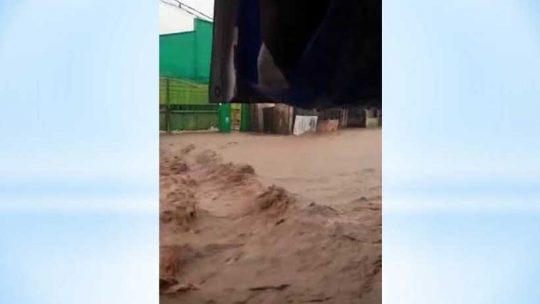 Kelurahan Way Lunik Bandarlampung Kembali Dilanda Banjir