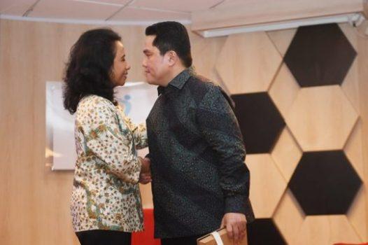 Menteri BUMN Erick Tohir Ubah Konsep Superholding Jadi Subholding