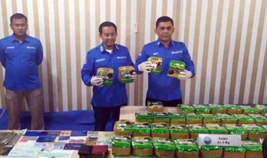 Kurir Sabu Asal Aceh Ditembak Mati BNN Lampung, 41,6 Kg BB Disita