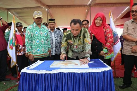 Plt Bupati Lampung Selatan Luncurkan Aplikasi Sedot WC