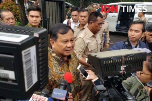 Ke Rumah Luhut, Prabowo Ucapkan Selamat Natal