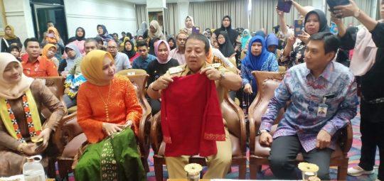 Ketua Dekranasda Lampung Imbau Masyarakat Bela dan Beli Produk UMKM