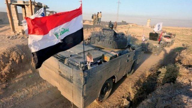 Serangan AS untuk membalas serangan roket di pangkalan Irak di Kirkuk
