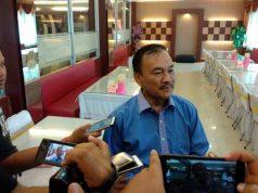 Ishak menjelaskan niatnya maju pada Pilbub Lampung Selatan kepada awak media.