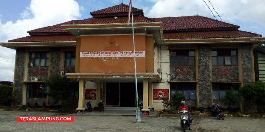 Dinas Pekerjaan Umum dan Penataan Ruang Lampung Utara. Foto: Teraslampung.com/Feaby Handana
