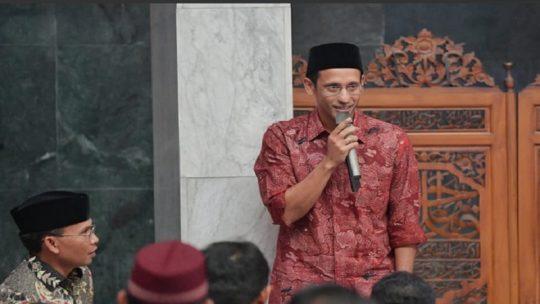 Mendikbud dan Dikti Nadiem Makarim. - Twitter @Kemdikbud_RI