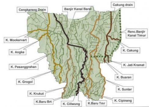 Ini 13 Sungai di Jakarta yang Berjasa Mengantar Air dari Hulu ke Laut