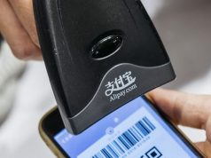 Ilustrasi transaksi menggunakan Alipay, alat transaksi pembayaran yang diluncurkan pada 2014. - Istimewa