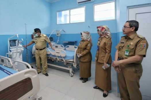 Gubernur Lampung Cek Kesiapan RSU Abdoel Moeloek Tangani Pasien Suspect Virus Corona