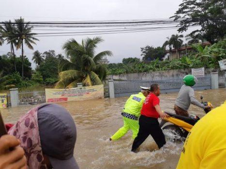 Kota Bandarlampung Kembali Dikepung Banjir