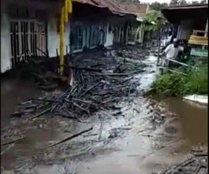 Kebakaran Hutan di Bondowoso Berujung Banjir Bandang