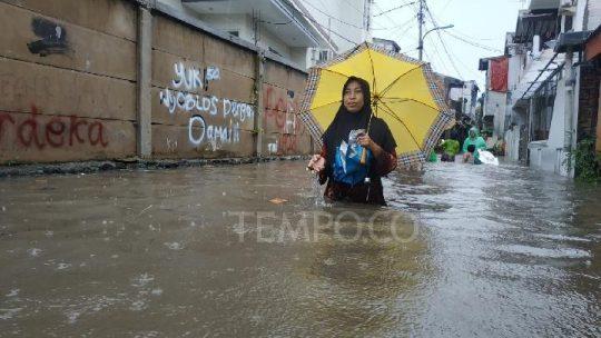 Banjir di Jakarta dan Depok,  9 Orang Meninggal