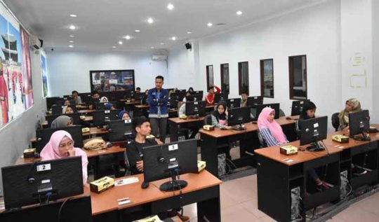 IIB Darmajaya Siapkan 400 Komputer untuk Tes CPNSD Pemkab Tulangbawang