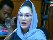 Anggota Komisi IX Dewan Perwakilan Rakyat dari Fraksi Golkar, Dewi Asmara, dalam rapat di Kompleks Parlemen, Jakarta, pada Senin, 20 Januari 2020.