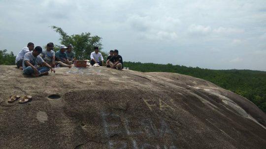 Mengunjungi Tempat Wisata Granit Indah di Purwodadi Dalam Lamsel