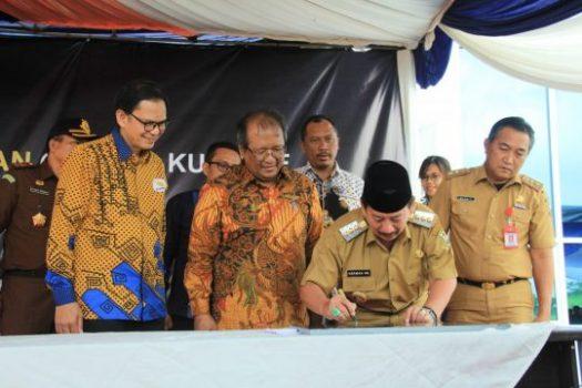 Walikota Bandarlampung Resmikan Gedung Perkualiahan Itera