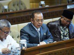 Anggota Komisi II DPR RI Mohamad Muraz (tengah) di Ruang Rapat Kerja Komisi II DPR RI, Gedung Nusantara II, Senayan, Jakarta, Rabu (15/1/2020). Foto : Jaka/Man