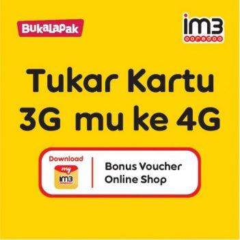 Cara Upgrade Kartu Indosat 3G ke 4G dengan Mudah