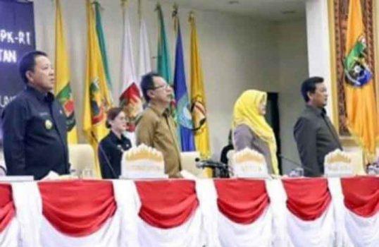 DPRD Lampung Gelar Paripurna Tentang Laporan Pansus Pembahasan LHP BPK-RI