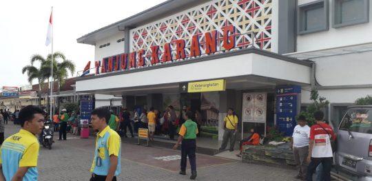 10 Calon Penumpang KA Rajabasa dan KA Kuala Stabas Divaksinasi Gratis
