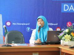 Kabid Neraca Wilayah dan Analisis Stastistik BPS Lampung, Nurul Andriana